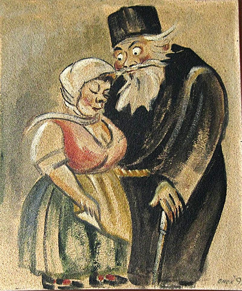 Фреска в кръчмата в Стефан Караджа