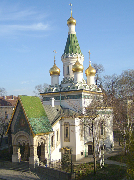 Подворье Русской православной церкви в Софии